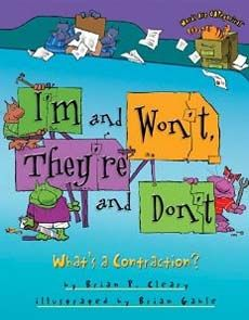 This is a book I could use as a read aloud on contractions. The web site link actually lists other read aloud books I could use in phonics as well. I could use this as a lesson opener.