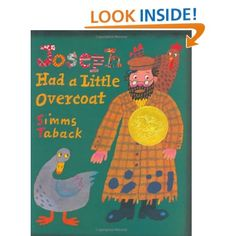 Joseph Had a Little Overcoat (Caldecott Medal Book): Simms Taback