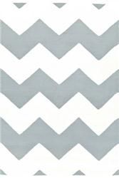 Buy Chevron Light Blue& White Indoor/ Outdoor Rug online with free shipping from thegardengates.com
