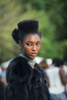 Rogue culture --- just catching my breath at the gorgeous women . This Is Afro Punk | VOGUE ITALIA.COMCREDITS