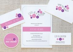 Cute as a Button Baby Shower Invitations   Shower That Baby