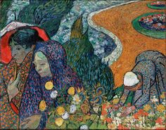 Vincent van Gogh 1853-1890 Memory of the Garden at Etten 1888