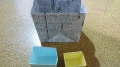 F-19 ★特大ゴミ箱の作り方★How To Make A Big Box.Origami