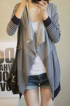 spring knit poncho patterns | 2013 Autumn Knitted Sweater Women,High Street Plus Size Poncho Stripe ...