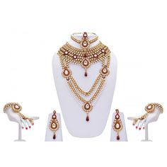 Custom Made Indian Dresses - Wedding Wear Online Bridal Jewelry Sets, Bridal Jewellery, Bridal Accessories, Jewelry Accessories, Allure Bridal, Indian Dresses, Indian Jewelry, Birthstones, Fashion Jewelry