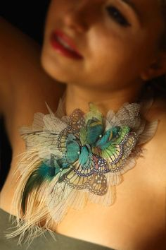 Light Dreamy Butterfly Jewelry by Derya Aksoy | Beads Magic