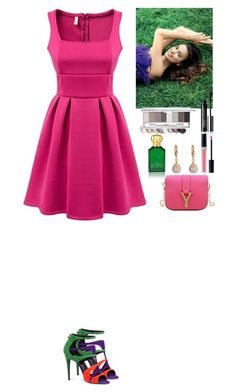 """Event TOMTOP"" by eliza-redkina ❤ liked on Polyvore featuring Pierre Hardy, Christian Dior and Clive Christian"