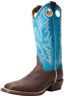 7a2887f7ff9e Justin Boots Mens USA Bent Rail Collection 13 Boot Wide Square Double  Stitch Toe Performance Rubber OutsoleChocolate PumaSophia EE US     Click  image for ...