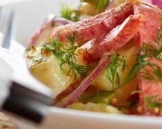 Recette de Salade de pommes de terre et lardons