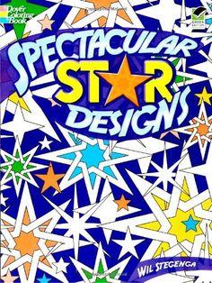 Spectacular Star Designs (Dover Design Coloring Books) by Wil Stegenga http://www.amazon.com/dp/048646993X/ref=cm_sw_r_pi_dp_2w9cub10BSM4C