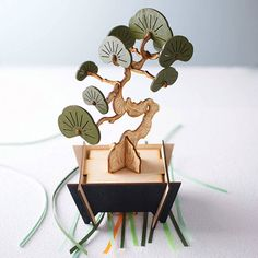 I've just found Flat Packed Yew Bonsai Tree Kit. A flat packed bonsai tree kit with instructions for self assembly. Creative enjoyment resulting in a beautiful, maintenance-free Taxus baccata (yew) bonsai.. £25.00