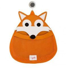 Buy Cute Fox Mesh Kids Toiletry Bag online at best price in India @ fashionandyou.com