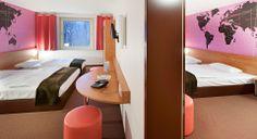 Familienzimmer für 4 Personen im B&B Hotel Hannover-Garbsen