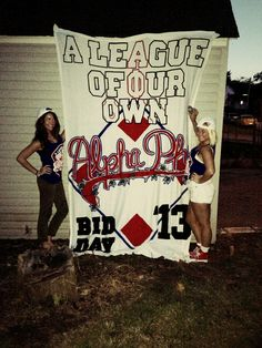 Alpha Phi bid day theme! Delta rho chapter! Love when my sisters are on Pinterest