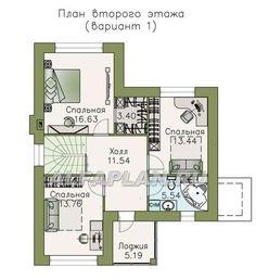"529A""Княжна Мери"" - удобный дом с вариантами планировки ...  Княжна Мери Рисунок"