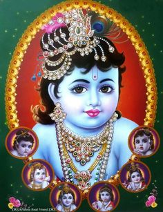 Different Mood of Krishna (via Dolls of India)