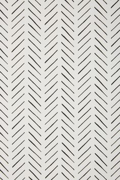 Magnolia Home Pick Up Sticks Wallpaper by in Black, Wall Decor at Wallpaper Color, Cute Patterns Wallpaper, Iphone Background Wallpaper, Aesthetic Iphone Wallpaper, Aesthetic Wallpapers, Black And White Wallpaper Iphone, Chevron Wallpaper, White Pattern Wallpaper, Spotted Wallpaper
