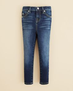 7 For All Mankind Girls' Nouveau New York Skinny Jeans - Sizes 4-6X