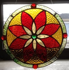 """""""Milagro"""". Artist: Faith Benedetti. """"Just For Fun Contest"""" 2014 entry in Cold Glass category. Stained Glass Express, Waterville Maine."""
