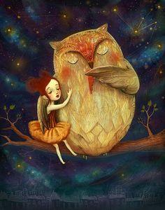 La ilustración de Lisa Falzon