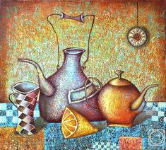 Time for tea, Dmitry Sulimov Pastel Paper, Pastel Art, Color Palette Challenge, Watercolor Paper Texture, Fashion Painting, Still Life Art, Canvas Paper, Acrylic Art, Arches