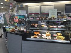 Squires Garden Centre, Long Ditton.  Ifse Design and Build, Winter 2015/16 Patisserie Display