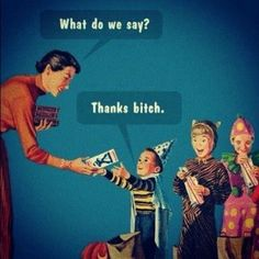 what the little ones are probably thinking on halloween :P