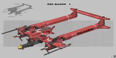 Alternate Red Baron, Sheng Lam on ArtStation at https://www.artstation.com/artwork/gdWqP