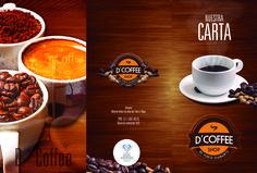 Diseño CARTA DCOFFEE Desarrollo Grafico  #CMEDINAP