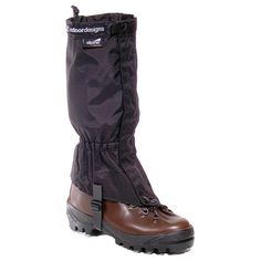 Outdoor Designs Alpine Gaiters Black/Small ** Startling review available here  : Backpacking gear