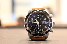 The Sinn 103 St Sa E, Not Just Another Vintage-Inspired Pilot's Chronograph (Live Pics