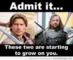 People Have Started Liking Jamie Lannister and The Hound