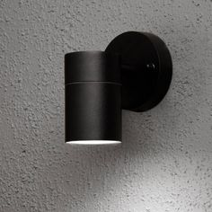 Buy the Konstsmide Modena here at Juice ~ exterior wall light in black, great for lighting up pathways, 2 year warranty. Exterior Wall Light, Exterior Lighting, Outdoor Lighting, Lighting Ideas, Thing 1, Wall Mounted Light, Aluminium, Led Lamp, Decoration