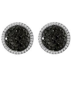 As featured in @Harper's Bazaar, Blackberry Diamonds and Vanilla Diamonds dress up your black tie affair.