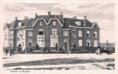 """Past & Present / """"Bodemplein"""" the houses are still there, but the streets are very different."""