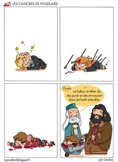À Poudlard / At Hogwarts - Harry Potter Parody