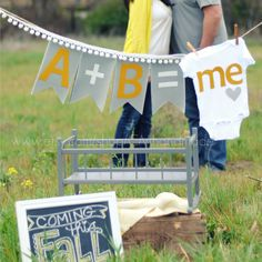Baby Announcement Idea