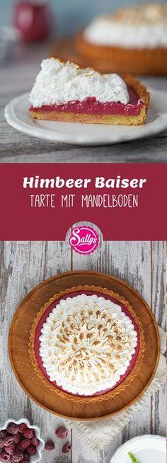Leckere Himbeer-Baiser Tarte!