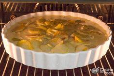 pastel de patata al horno bacon nata paso a paso Tostadas, Dory, Cheeseburger Chowder, Tapas, Mashed Potatoes, Good Food, Menu, Cooking Recipes, Ethnic Recipes