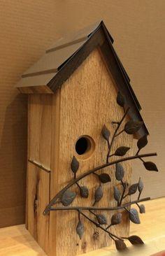 Unique Handmade Birdhouses