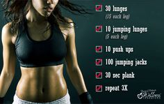 A quick and effective exercise plan for all levels of fitness.