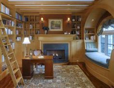 Cozy reading nooks that will inspire to design your own corner (154)