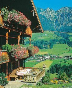 Alpbach, Austria - This is how I remember Austria.