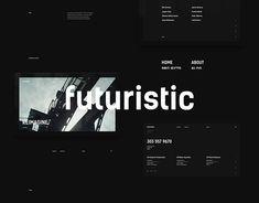 """다음 @Behance 프로젝트 확인: """"Futuristic"""" https://www.behance.net/gallery/57650893/Futuristic"""