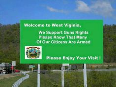 More states need these signs... Support the 2nd Amendment... - Like and Repin if you agree!!!!