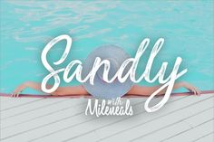 Sandly - with mileneal (font duo) By TypeGatsby