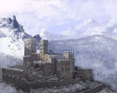 Vampire Level-Abbey by DiegoGisbertLlorens on deviantART