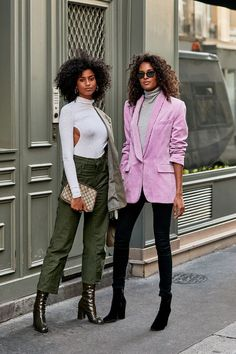 The Latest Street Style From Paris Fashion Week - Fashion Trends ✨ Street Style Trends, Spring Street Style, Street Chic, Paris Street, Street Styles, Spring Style, Trendy Fashion, Korean Fashion, Fashion Outfits