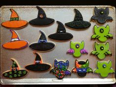 Dutch Sugar Cookies - Halloween 2014