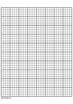 Printable 4 Squares Per Inch Black Graph Paper for Paper Grid Paper Printable, Printable Worksheets, Printables, Embroidery Patterns, Stitch Patterns, Cross Coloring Page, Alphabet Code, A4 Paper, New Crafts